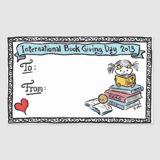 Debbie Ohi - Book Giving Day bookplate