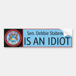 Debbie Stabenow Car Bumper Sticker