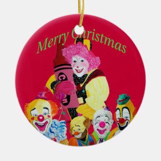 Debbie the Clown Christmas Ornament