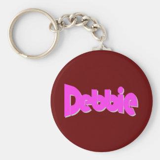 Debbie's key chain