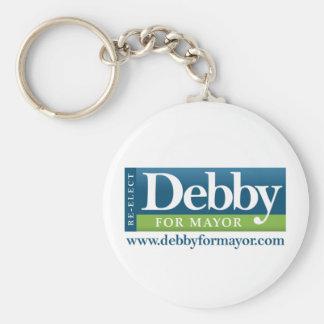 Debby For Mayor Key Chain