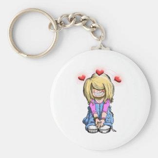 Debby Love Keychain