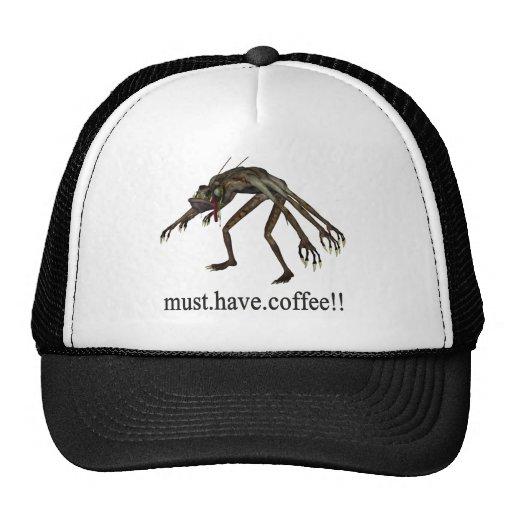 debe comer café gorro de camionero