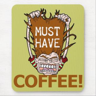 Debe comer café tapetes de raton