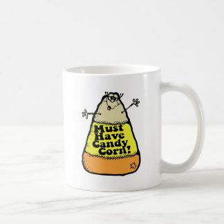 Debe comer pastillas de caramelo taza de café