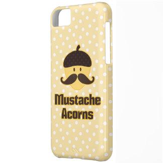 (Debe esconder) las bellotas del bigote Funda Para iPhone 5C