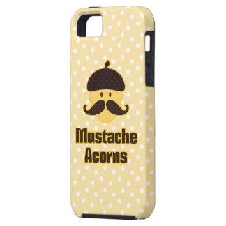 (Debe esconder) las bellotas del bigote Funda Para iPhone 5 Tough