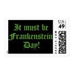 Debe ser día de Frankenstein
