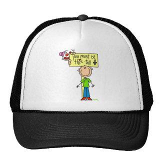 Debe ser esto alto gorras de camionero