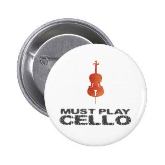 Debe tocar el violoncelo pin