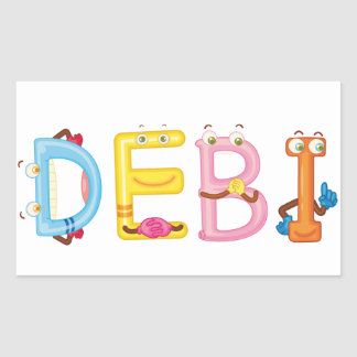 Debi Sticker