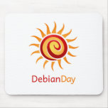 Debian Day Mouse Pad