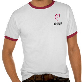Debian Grey T-Shirt
