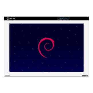 Debian Linux Galaxy Laptop Skins
