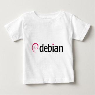 debian Linux Logo Baby T-Shirt