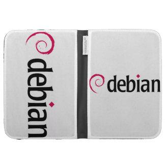 debian Linux Logo Caseable Kindle Keyboard Case