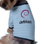 debian Linux Logo Dog Clothes