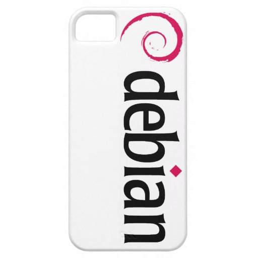 debian Linux Logo iPhone 5 Covers