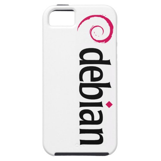 debian Linux Logo iPhone SE/5/5s Case