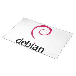 debian Linux Logo Placemats