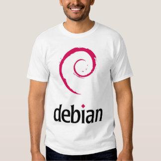 Debian logo shirt