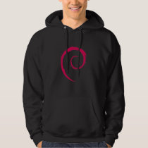 Debian Men's Basic Hooded Sweatshirt