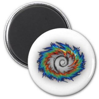 Debian swirl 2 inch round magnet