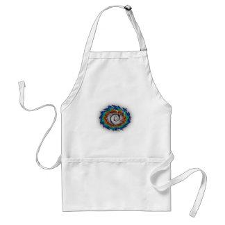 Debian swirl adult apron