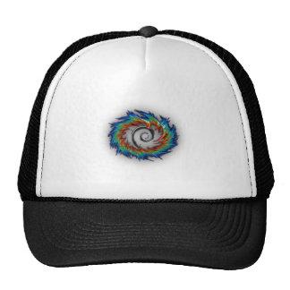 Debian swirl mesh hats