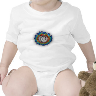 Debian swirl t-shirts