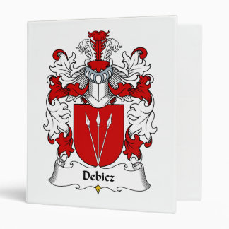 Debicz Family Crest 3 Ring Binders