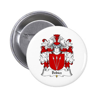 Debicz Family Crest Buttons