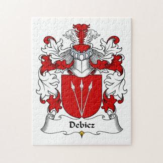 Debicz Family Crest Jigsaw Puzzle