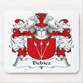 Debicz Family Crest Mouse Mat