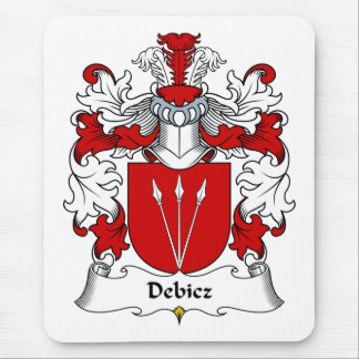 Debicz Family Crest Mouse Pad
