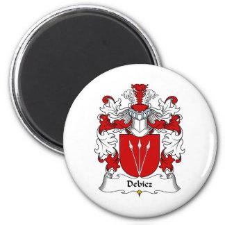 Debicz Family Crest Refrigerator Magnet