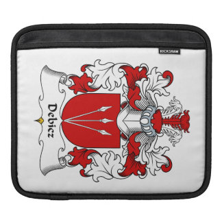 Debicz Family Crest Sleeves For iPads