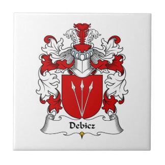 Debicz Family Crest Tile