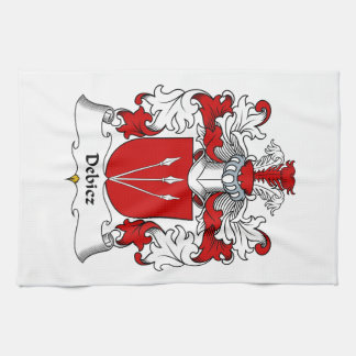 Debicz Family Crest Towels