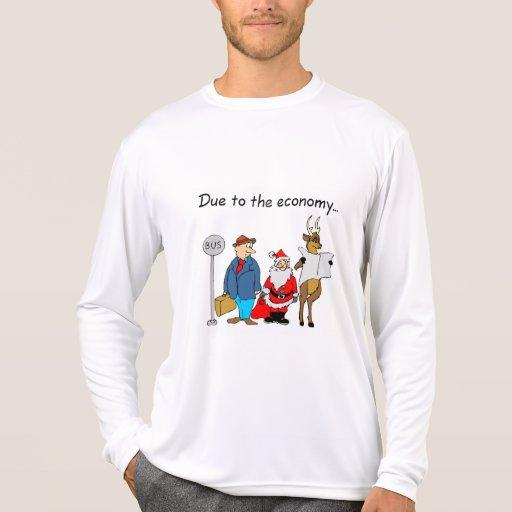 Debido a la economía… camisetas