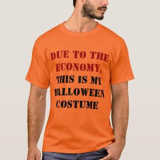 Debido a la economía, ésta es mi traje de playera