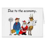 Debido a la economía Santa Tarjetas