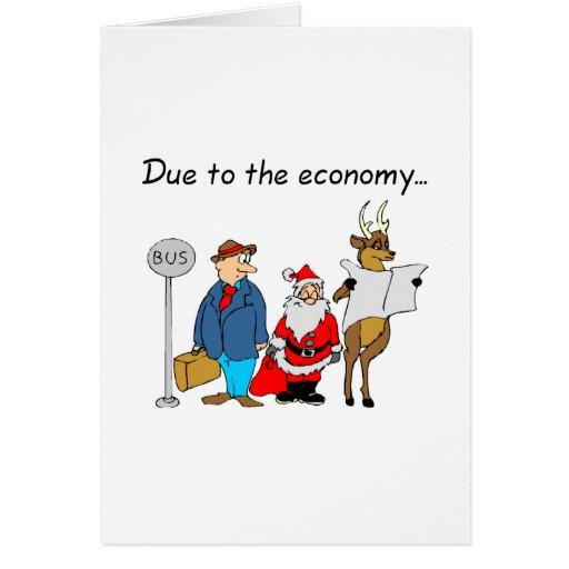 Debido a la economía Santa Tarjeton