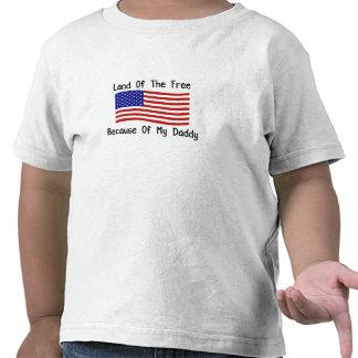 Debido a mi papá camiseta