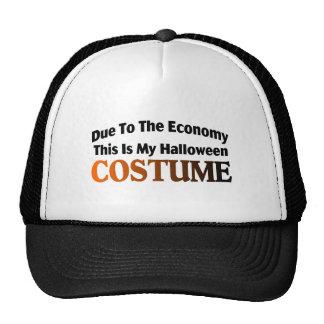 Debido al traje de la economía gorras de camionero