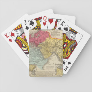 Debilitated World Map 16 Playing Cards