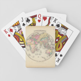 Debilitated World Map_Maps of Antiquity Playing Cards
