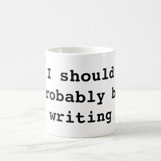 Debo escribir probablemente taza clásica