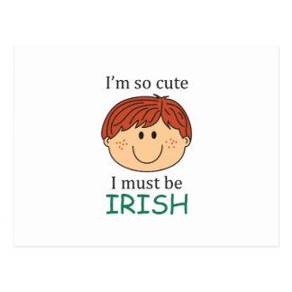 Debo ser irlandés postal