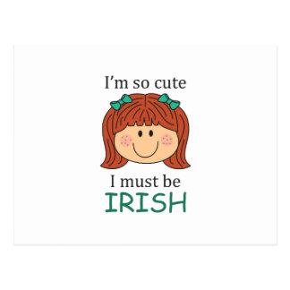Debo ser irlandés postales